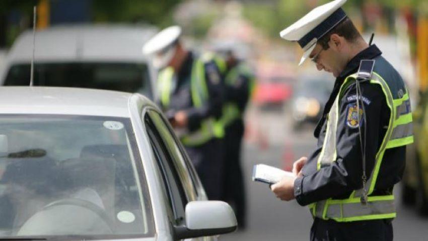 Foto: Un șef de poliție, lăsat fără permis de conducere de către subalternii săi pentru viteză excesivă