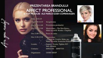 Gosh Shop te invită la un eveniment de make-up cu lansare de noi produse!