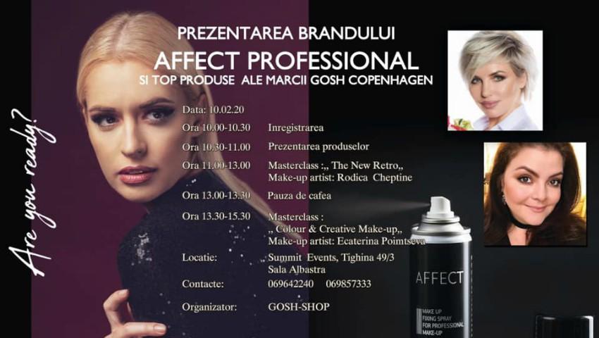 Foto: Gosh Shop te invită la un eveniment de make-up cu lansare de noi produse!