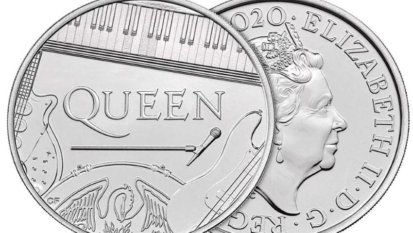 Foto: Marea Britanie a emis o monedă comemorativă dedicată trupei Queen