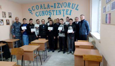 Minorii deținuți în Penitenciarul din Goian au îmbrățișat noi meserii și au primit diplome de absolvire