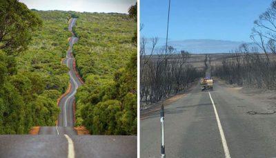 Locuri și priveliști din Australia, înainte și după incendii. Imagini care îți frâng inima