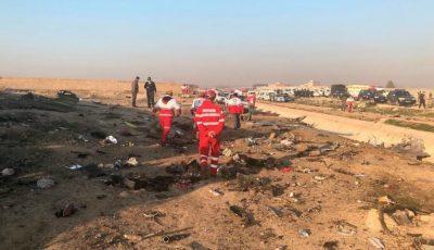 Noi informații despre avionul prăbușit în Iran: piloții au încercat să se întoarcă pe aeroport