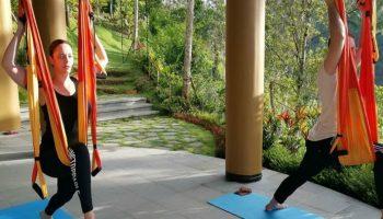 Andreea Marin și iubitul ei fac împreună exerciții fizice! Foto