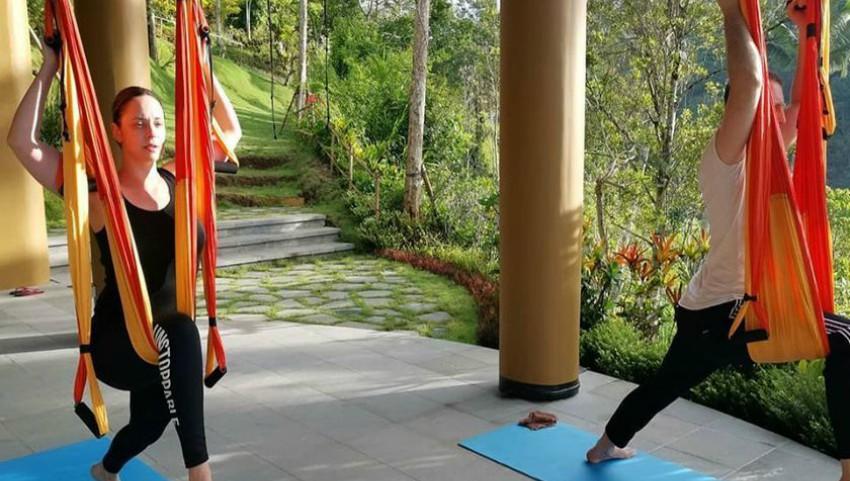 Foto: Andreea Marin și iubitul ei fac împreună exerciții fizice! Foto