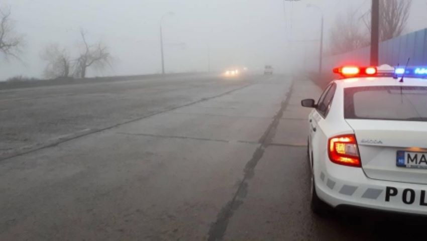 Foto: Avertizare! Va fi ceață puternică în Moldova