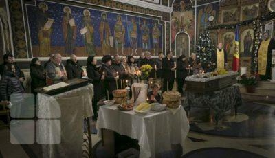 Corpul neînsuflețit al lui Ştefan Petrache a fost depus la biserica Sfânta Teodora de la Sihla