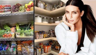 Ce are în frigider Kim Kardashian? Vedeta a arătat ce mănâncă familia ei