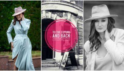 """Creatoarea de pălării Chiroșca Iuliana participă în cadrul evenimentului ,,London Hat Week""""!"""