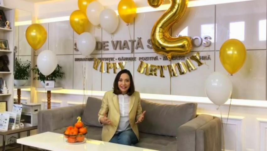 Foto: La mulți ani! Primul Centru Online de Nutriție și Sport din Moldova – galinatomas.com, a împlinit 2 ani de la lansare