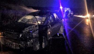 O femeie a murit, după ce s-a răsturnat cu un Volvo, la Ungheni