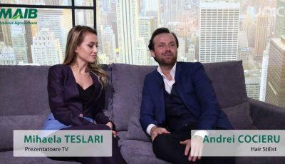 Andrei Cocieru și Mihaela Teslari au trecut la casă nouă