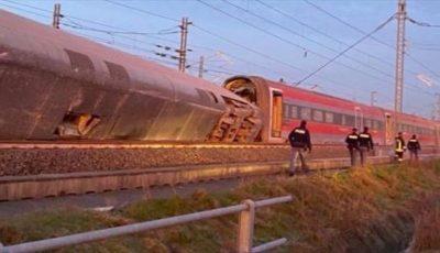 Accident feroviar în Italia, lângă Milano: 2 morți și peste 30 de răniți