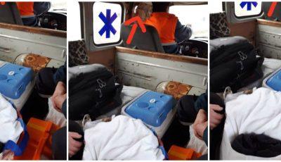 Un copil de 2 luni, în stare gravă, transportat la spital cu o ambulanță avariată. Reacția CNAMUP