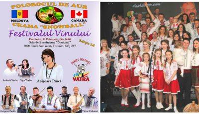 Basarabenii stabiliți cu familiile lor în Toronto, Canada, vor petrece la Festivalul Vinului de Casă din Canada, Polobocul de Aur 2020
