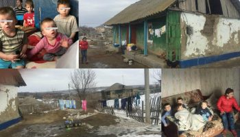 13 frațiori din Anenii Noi trăiesc într-o sărăcie cumplită