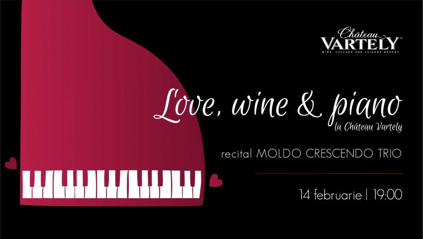 Foto: Love, Wine & Piano – sărbătorește un Valentine's Day de neuitat la Château Vartely!
