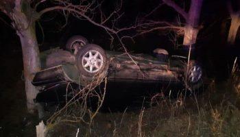 O mașină cu 8 oameni s-a răsturnat la Anenii Noi. Un bebeluș de 10 luni a murit