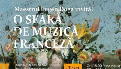 Maestrul Eugen Doga invită! O seară de muzică franceză cu bursierii de la Arta-vie