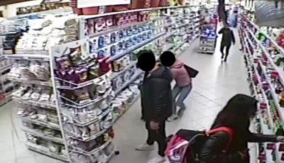 Moldovence din Italia, prinse în timp ce furau produse alimentare dintr-un market