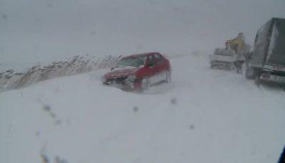 Situație critică în România. Toate șoselele din județul Tulcea sunt închise