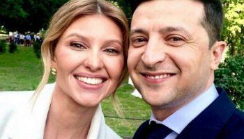 Vladimir Zelenski, mesaj emoționant dedicat soției sale de ziua ei de naștere!
