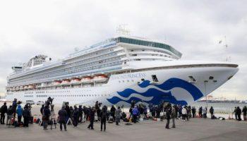 """Trei moldoveni, aflați în carantină de coronavirus pe nava """"Princess Diamond"""", vor ajunge acasă în zilele următoare"""