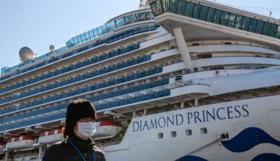 Coronavirusul ia amploare pe nava de croazieră Diamond Princess, unde se află și moldoveni