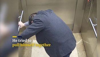 Video. Momentul în care un doctor chinez se prăbuşeşte la pământ din cauza faptului că este epuizat