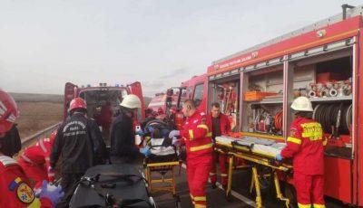 Un moldovean a fost rănit într-un grav accident, în apropiere de vama Albița