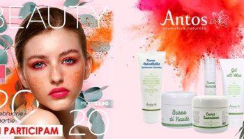 Expoziția Beauty 2020: Antos Cosmetică Naturală vine cu reduceri de 20% la toate produsele!