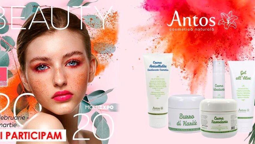 Foto: Expoziția Beauty 2020: Antos Cosmetică Naturală vine cu reduceri de 20% la toate produsele!