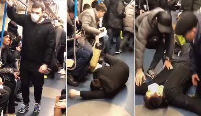 Un blogger din Rusia s-a prefăcut că este infectat cu coronavirus și a provocat panică în metroul din Moscova
