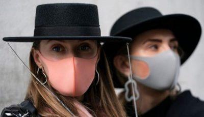 Masca pentru epidemia de coronavirus, în vogă la festivalurile de modă