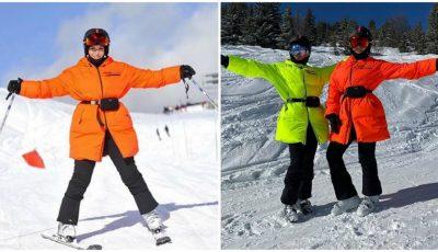 Jasmin își încarcă bateriile la munte, alături de soția purtătorului de cuvânt al lui Vladimir Putin