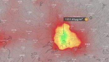 O substanţă toxică, detectată în cantități mari de sateliţii meteo deasupra oraşului Wuhan, focarul coronavirusului