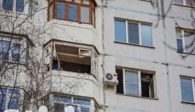 Explozie puternică într-un apartament de pe bulevardul Moscovei