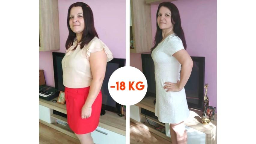 Foto: Svetlana a slăbit 18 kg în 10 săptămâni, online, de acasă. Ea spune cum a reușit!