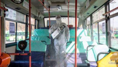 Primăria Chișinău: suprafețele din transportul public vor fi dezinfectate după fiecare rotație