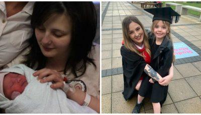 Mărturisirile unei tinere care a devenit mamă la 14 ani. Acum, e fericită