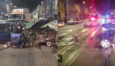 Un moldovean beat a provocat un grav accident în România