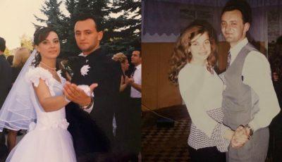 Imagini din tinerețe cu Igor Dodon și soția sa. Prima Doamnă este astăzi sărbătorită!