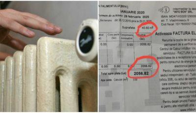 Facturi mari la încălzire în Chișinău. Locătarii sunt șocați