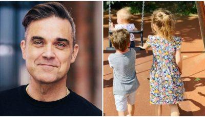 Robbie Williams a devenit tată pentru a patra oară, cu ajutorul unei mame surogat