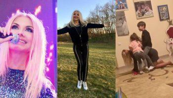 Ludmila Bălan, o bunicuță tânără și jucăușă. Nepoțeii o adoră! Video