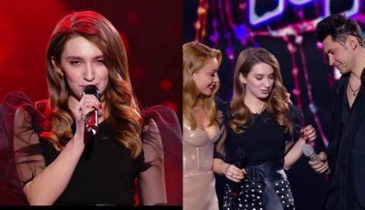 """Video! Vocea Ucrainei: Dan Bălan, impresionat de o tânără care a cântat piesa """"Домой""""!"""
