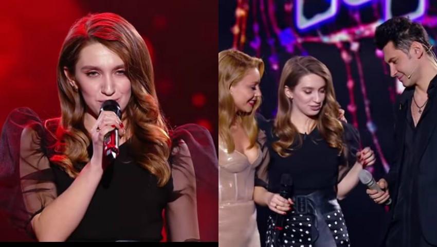 """Foto: Video! Vocea Ucrainei: Dan Bălan, impresionat de o tânără care a cântat piesa """"Домой""""!"""