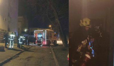Incendiu puternic într-un apartament din Capitală: o femeie și-a pierdut viața