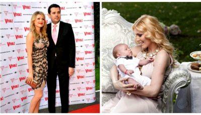 Cristina Rus a născut al treilea copil