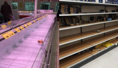 Italienii golesc rafturile magazinelor. În Milano, Torino și alte localități se închid școlile, grădinițele, universitățile și oficiile